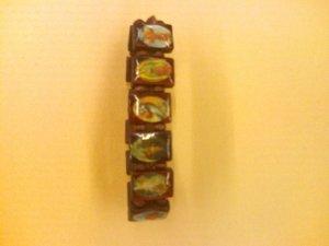 Catholic Saint Bracelet-wood material