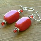 Red, Red Hot Tamale Earrings