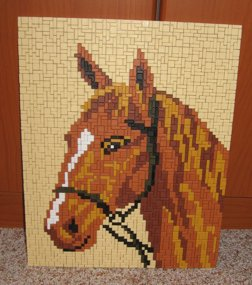 Angies - Horse Portraet Pattern for Ministeck - 3 available