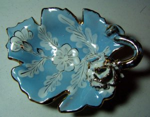 ITALY ANTIQUE DISH MARKED 937/2000