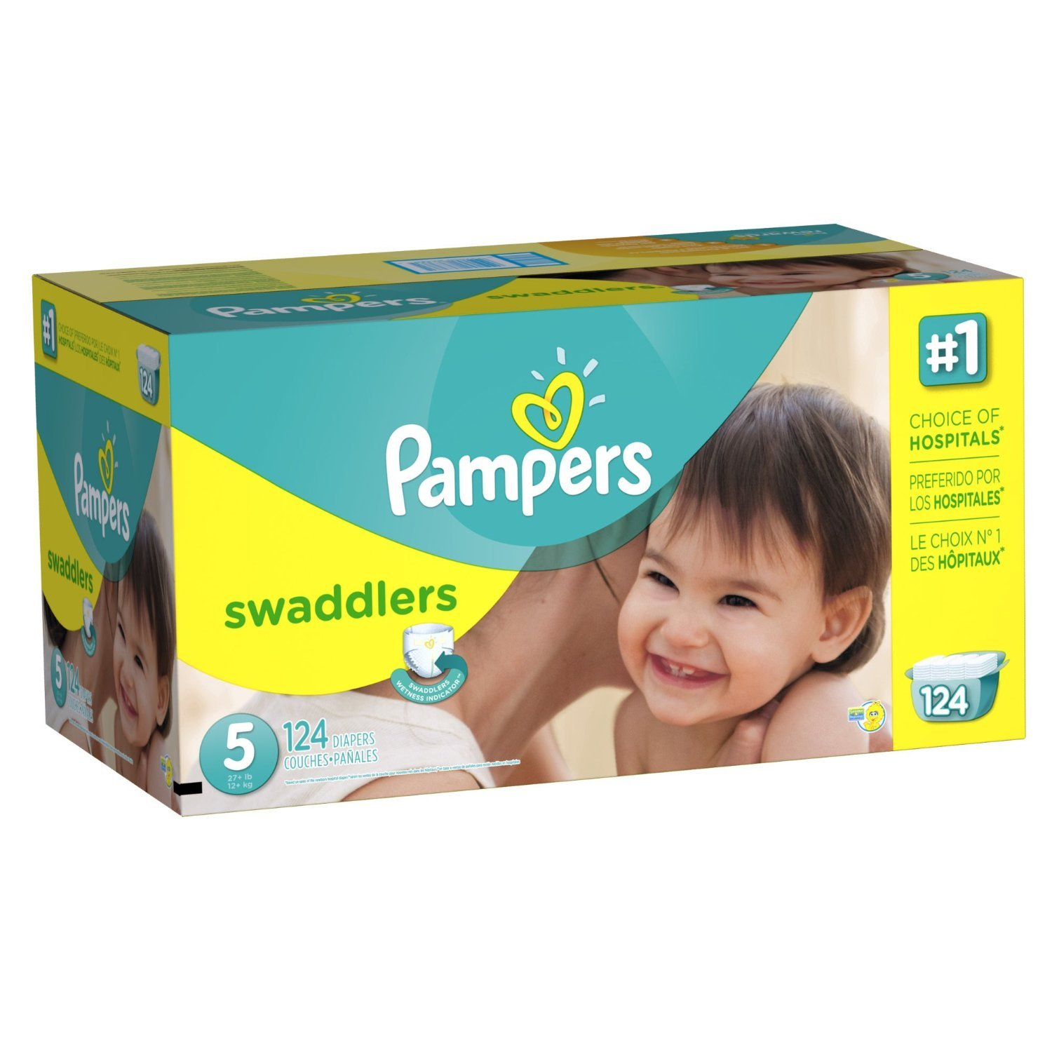 Amazon: 20 Count Pack of 3 (Total of 60 Pampers) Pampers Swaddlers Diapers, Size Newborn Just $ (As of 9/10/ PM CDT) Posted on September 10, by admin.
