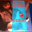 JOE SATRIANI NOT OF HIS EARTH LIMITED EDITION BLUE COLORED VINLY LP 1986