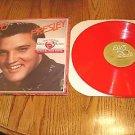 ELVIS  PRESLEY  A ValentineGift For You RED VINYL LP