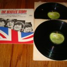 THE BEATLES STORY 2-LPS  Original Apple Label
