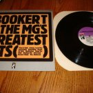 BOOKER T & THE MG'S GREATEST HITS LP