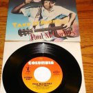 PAUL McCARTNEY Take It Away Picture Sleeve & 45 rpm