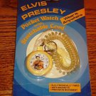 ELVIS POCKET WATCH WITH STRETCHABLE CORD NEW IN PACKAGE