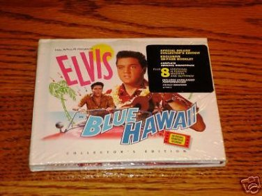 ELVIS BLUE HAWAII COLLECTOR'S EDITION CD  Sealed !