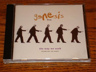 GENESIS LIVE - THE WAY WE WALK ORIGINAL CD