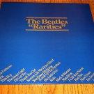 THE BEATLES RARITIES ORIGINAL PROMO LP HOLLAND IMPORT