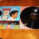 ELVIS DOUBLE TROUBLE ORIGINAL LP