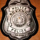 THE POLICE Roxanne Badge Shaped PICTURE DISC