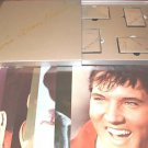 ELVIS ARON PRESLEY 4 CASSETTES BOX SET WITH PHOTOS