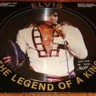 ELVIS PRESLEY LEGEND OF A KING PICTURE DISC LP NEAR MINT!