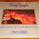 DEEP PURPLE MADE IN EUROPE ORIGINAL LP STILL SEALED!