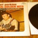 CARL PERKINS ORIGINAL GOLDEN HITS  WHITE LABEL LP