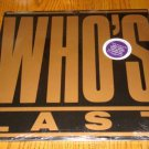 THE WHO WHO'S LAST   2-RECORD SET  SEALED!