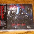 MOTLEY CRUE GIRLS GIRLS GIRLS  Japanese CD with Obi