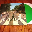 THE  BEATLES ABBEY ROAD GREEN COLORED VINYL LP