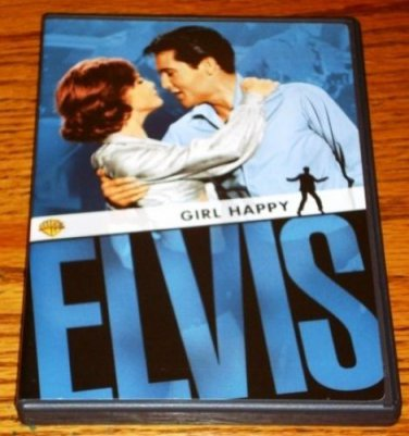 ELVIS PRESLEY GIRL HAPPY DVD WITH LOBBY CARDS MINT!