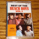 BEST OF THE BEACH BOYS VOLUME 1 CASSETTE