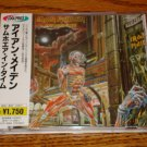 IRON MAIDEN SOMEWHERE IN TIME  JAPAN CD WITH OBI