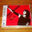 THE PRETENDERS VIVA EL AMOR JAPAN CD WITH OBI Sealed!