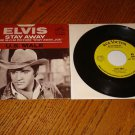 ELVIS  Stay Away / U.S. Male Picture  Sleeve & 45 rpm