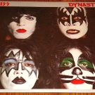KISS DYNASTY ORIGINAL LP With Poster Insert  Still In Shrink Wrap!