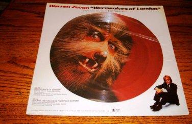 WARREN ZEVON Werewolves Of London PICTURE DISC