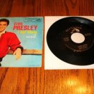 ELVIS PRESLEY I Got Stung Picture Sleeve & 45 rpm