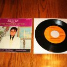 ELVIS Mama Liked The Roses / Wonder of You Pic Slv w/45