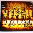 DEF LEPPARD AUTOGRAPHED CD BOOKLET   WOW !
