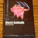 BLACK SABBATH PARANOID ORIGINAL CASSETTE