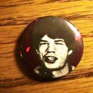 ROLLING STONES Mick Jagger BUTTON !