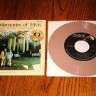 ELVIS Our Memories of Elvis Beige Colored Vinyl 45 rpm