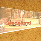 ELVIS PRESLEY PENNANT GRACELAND MEMPHIS TENNESSEE   FREE USA SHIPPING!