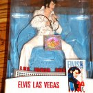 ELVIS LAS VEGAS COMMEMORATIVE FIGURE NEW IN BOX!  INCLUDES CONCERT POSTER