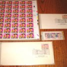 Elvis First Day Issue Memphis Tenn. Complete Stamp Set