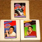 ELVIS PRESLEY LIFE SERIES COLLECTIBLE CARDS SET OF 3