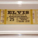 ELVIS CONCERT TICKET ROCHESTER WAR MEMORIAL 5/25/77