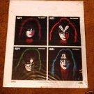 KISS ORIGINAL POLY RECORD BAG SEALED 1978 AUCOIN