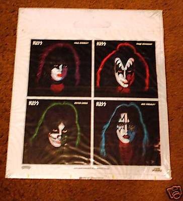 KISS ORIGINAL POLY RECORD BAG SEALED 1978 AUCOIN