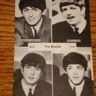 THE BEATLES POSTCARD  1963