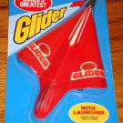 WORLD'S GREATEST GLIDER WITH LAUNCHER SEALED ON CARD