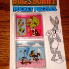 BUGS BUNNY POCKET PUZZLE  NEW ON CARD