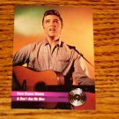 ELVIS HARD HEADED WOMAN PLATINUM COLLECTIBLE CARD #33
