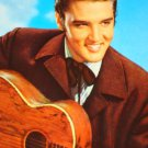 ELVIS PRESLEY COLORED POST CARD  No writing - Mint !