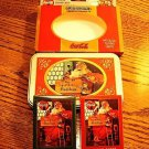 Coca Cola Santa Playing Cards in Collectible Tin