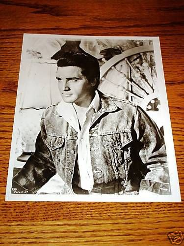 Elvis Presley Stay Away Joe 8 x 10 Black & White Photo